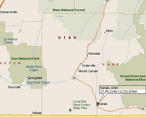 Kanab Utah Map Kanab, Utah Map 1 Kanab Utah Map