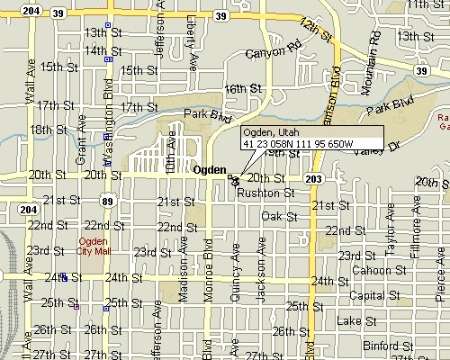 Ogden Utah Map Ogden, Utah Map 3 Ogden Utah Map